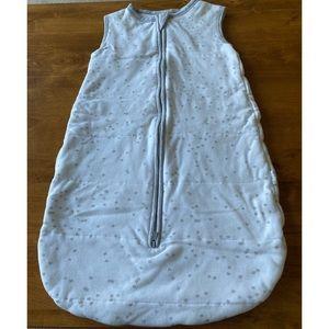 Bonds Baby Sleeping Bag 000 0-3mths White & Grey